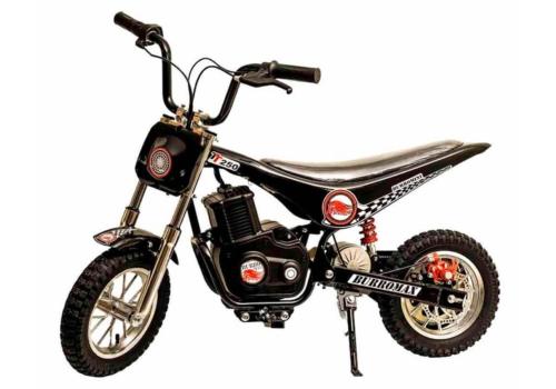 iconic electric minibike tt250 large black