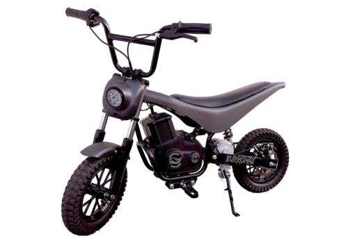 iconic electric minibike tt750r large matte black carbon